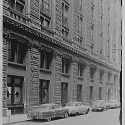 Prudential Insurance Co., home office, Newark, New Jersey. Exterior VI.jpg