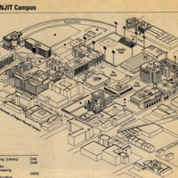New Jersey Institute of Technology Campus Map (1996-1999)