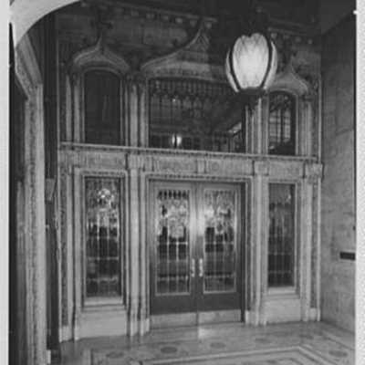 Prudential Insurance Co., home office, Newark, New Jersey. Cashier's foyer.jpg