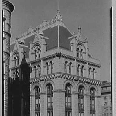 Prudential Insurance Co., Newark, New Jersey. North building, upper part, from opposite roof.jpg