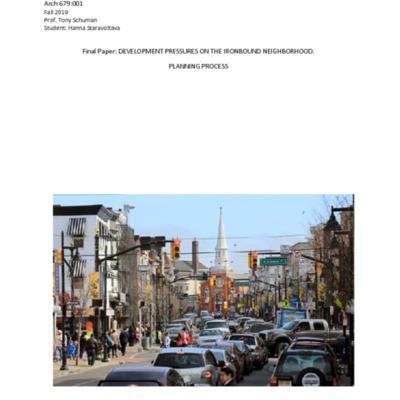 Development Pressures on the Ironbound Neighborhood.pdf