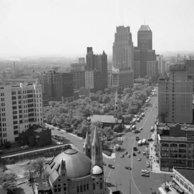 View of Newark 1953.jpg