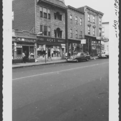 #386 & 388 W. Market, site of Hillock 30' high with small  house on top, cleared for these bldgs. Hillock in rear.jpg
