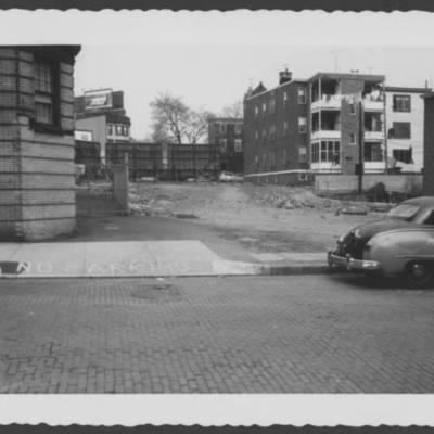 #7 N 5th St, near NE cor Central Ave & W. Market, empty lot where Harry J. Stevens had outdoor movie. Mar 1959.jpg