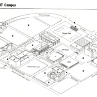 New Jersey Institute of Technology Campus Map (1989-1991)