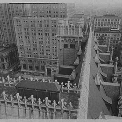 Prudential Insurance Co., Newark, New Jersey. Detail from tower I.jpg