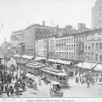 Market and Broad Street early 20th century.jpg