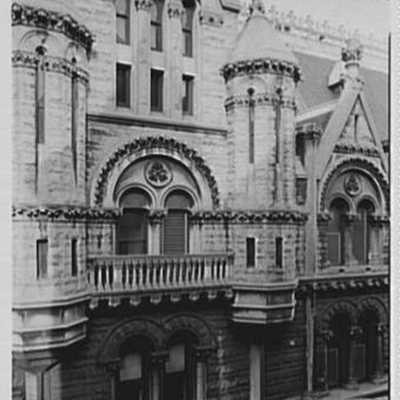 Prudential Insurance Co., Newark, New Jersey. Detail from dining room window.jpg