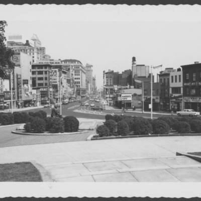 Market St looking from Court House in 1961.jpg